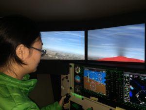 Minyuan flys the sim